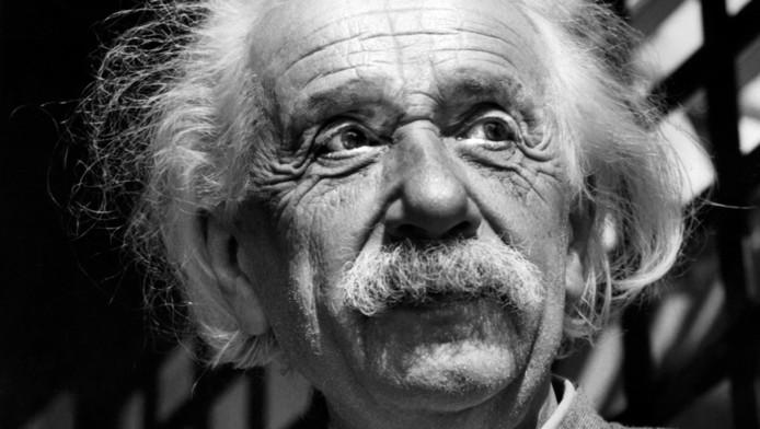 Albert Einstein en 1954.