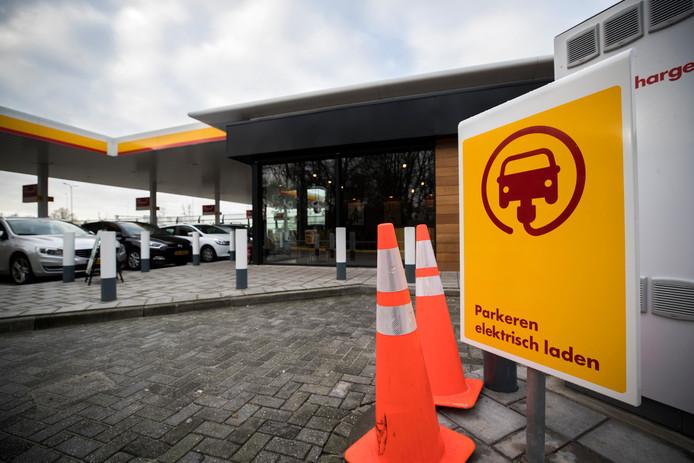 Tankstation De Andel in Reeuwijk.