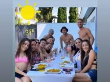 Luuk de Jong door het stof na groepsfoto van etentje: 'Zal niet meer gebeuren'