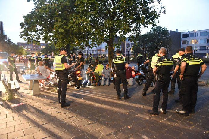 Een aantal avonden was het onrustig in Utrecht. Dat ontlokte de PVV een omstreden uitspraak.