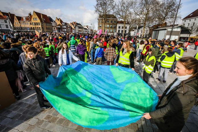 Klimaatmars Brugge