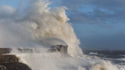 Waarschuwing voor stormvloed Duitse kust: waterpeil kan anderhalve meter stijgen