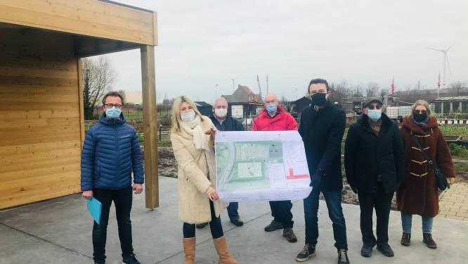 Tuinhuis en bijenhal vrolijken buurttuin van Zwankendamme op