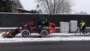 Technische dienst heeft panne met sneeuwruimer