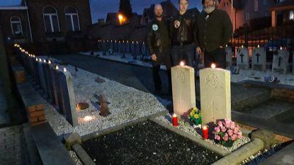 Prachtig en warm eerbetoon op kerkhoven: honderden kaarsjes sieren graven op kerstavond
