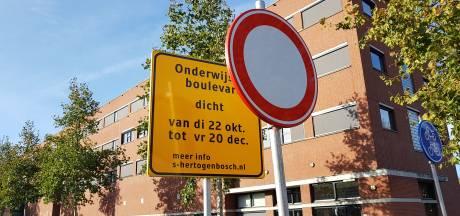 Verkeers-experiment zorgt voor onrust en onzekerheid in Bosch Paleiskwartier