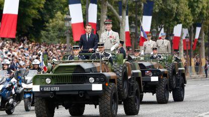 Rellen na defilé op Franse nationale feestdag: meer dan 170 betogers opgepakt