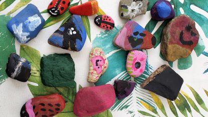 Ga met je kinderen op zoek naar beschilderde stenen
