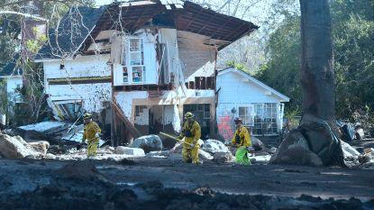 Al 18 doden na modderstromen in Californië