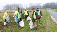 Lenteschoonmaak in Affligem: vrijwilligers ruimen zaterdag zwerfvuil op