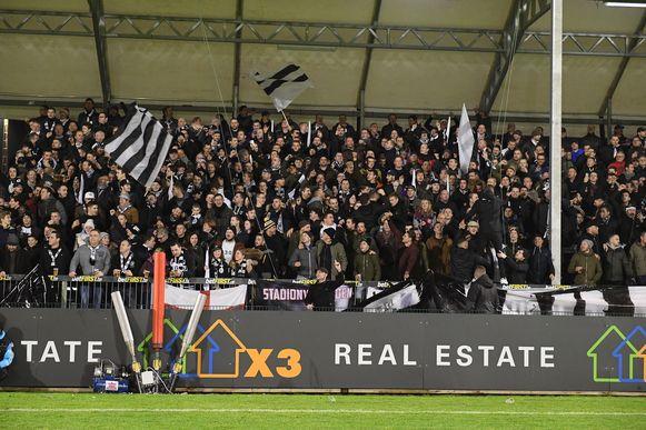 Eendracht Aalst-supporters.