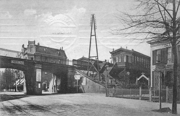 Station Velperpoort in 1909.