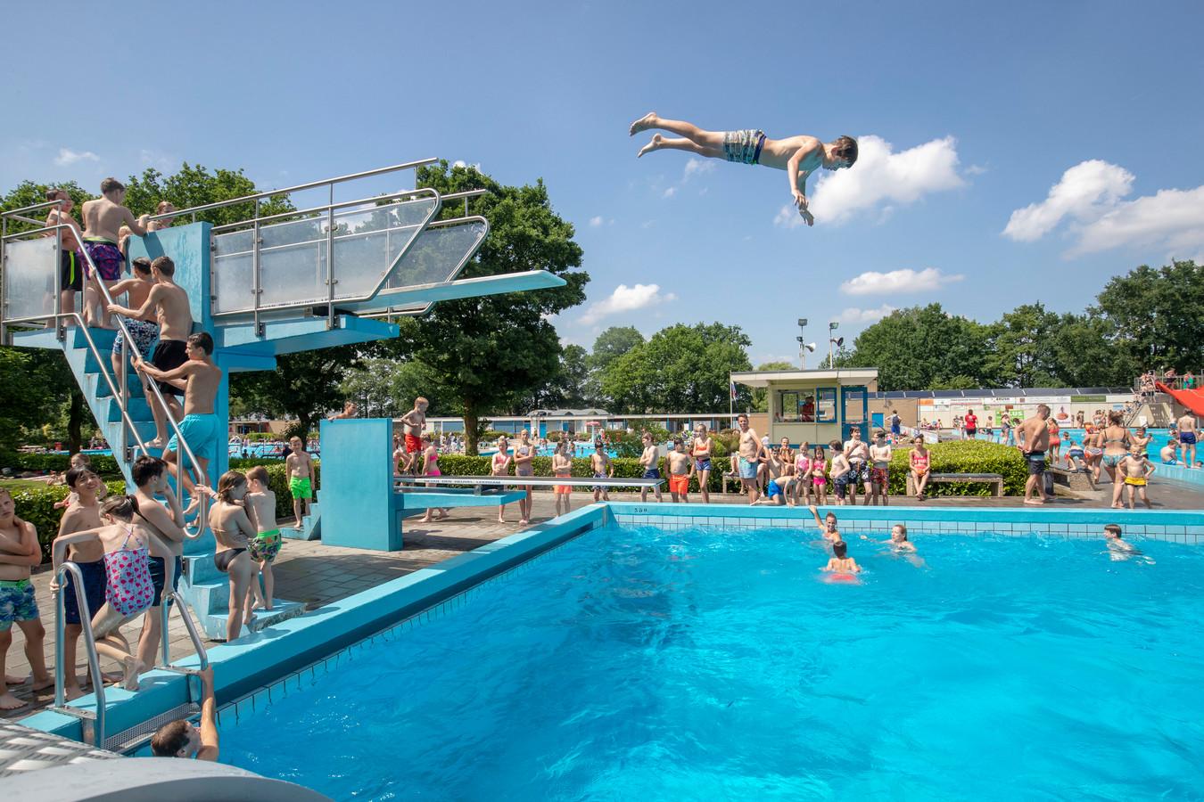 Zwembad de Vrije Slag in 2018.