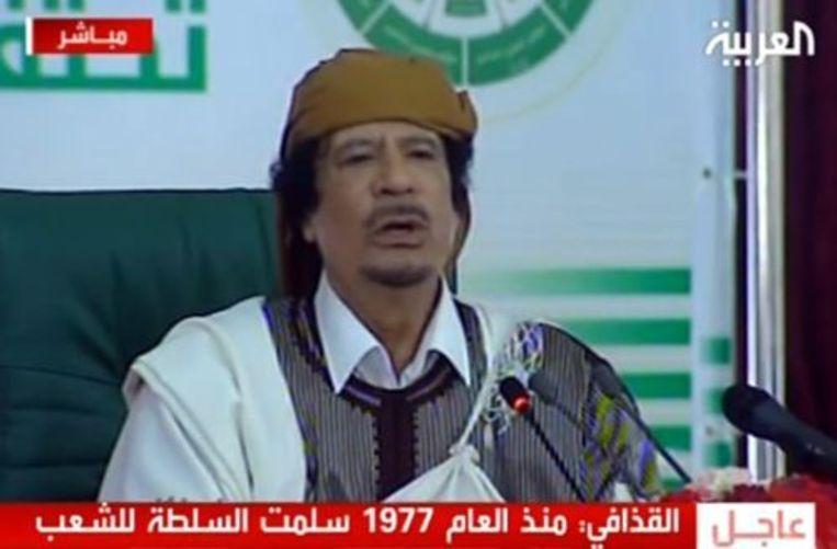 Muammar Kaddafi. EPA Beeld