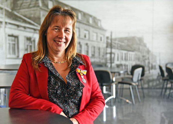 In Terneuzen kreeg onder anderen Anita Neijt-Blok een onderscheiding.