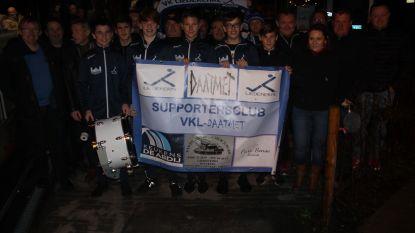 VK Daatmet supportert voor VK Liedekerke