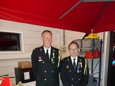 Koninklijke onderscheiding voor 2 brandweerlieden in Weerselo