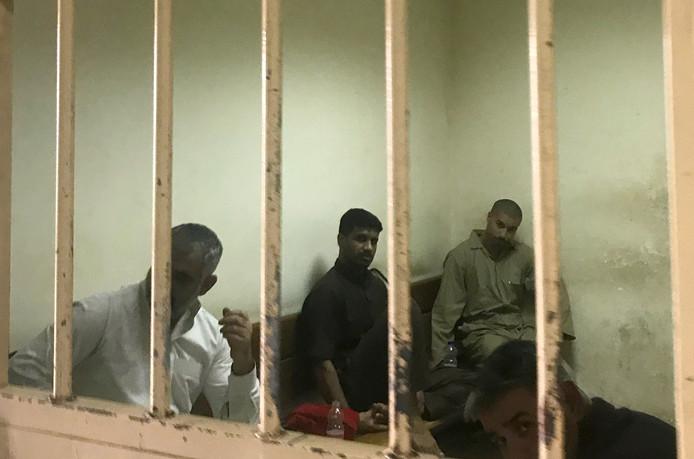 De cel in Bagdad waar de Belgische jihadstrijder Tarik Jadaoun zijn doodvonnis afwachtte.