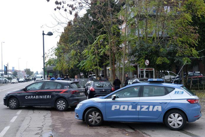 Archiefbeeld van een politieactie tegen de 'Ndrangheta.
