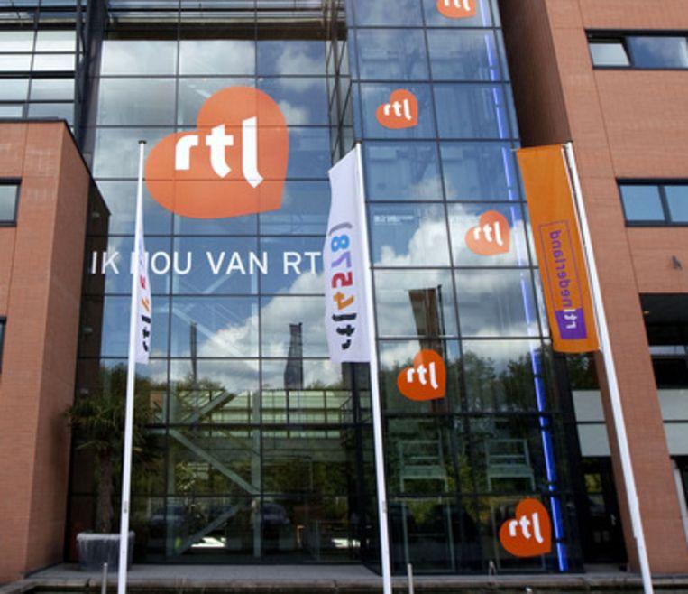 Het pand van RTL in Hilversum Beeld ANP