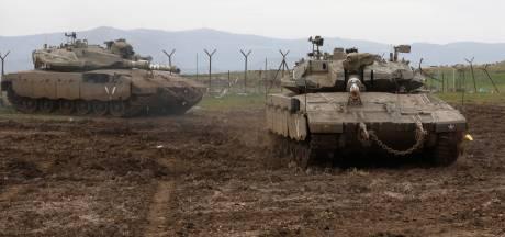 Leger Israël voert luchtaanvallen op Syrië uit