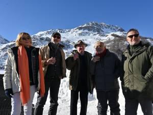 Les Bronzés de retour à Val d'Isère 40 ans après leur film culte