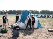 'Wildkamperen' bij festivalterrein Zwarte Cross niet toegestaan: 'Ook geen feestje bouwen in een weiland'