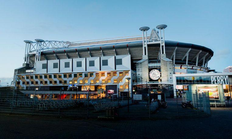 Exterieur van de Johan Cruijff Arena. Beeld anp