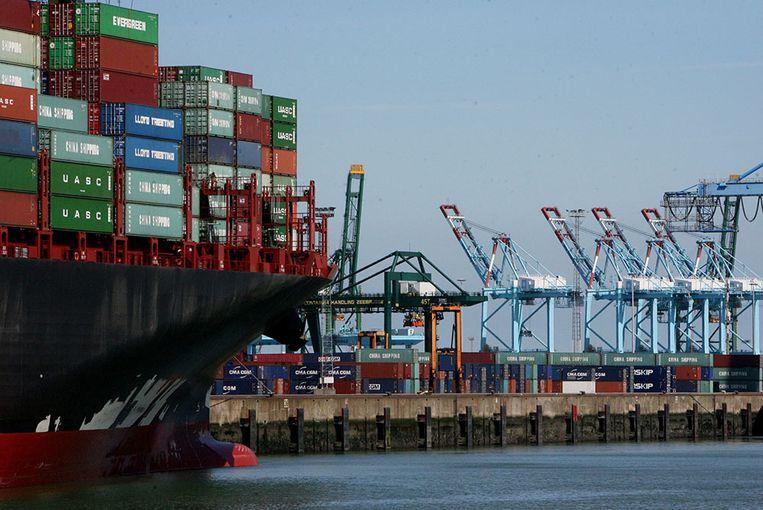 De Iraniër werd geklist toen hij wilde inschepen op de ferry in de haven van Zeebrugge.