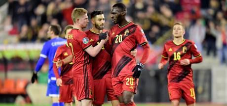 Quatre amicaux pour les Diables avant l'Euro