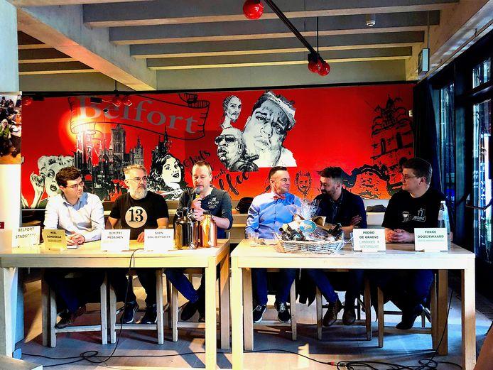 In het Belfort Stadscafé vormde de Gentse biercultuur zondagochtend het gespreksonderwerp van een nieuwe editie van Speakers Corner.