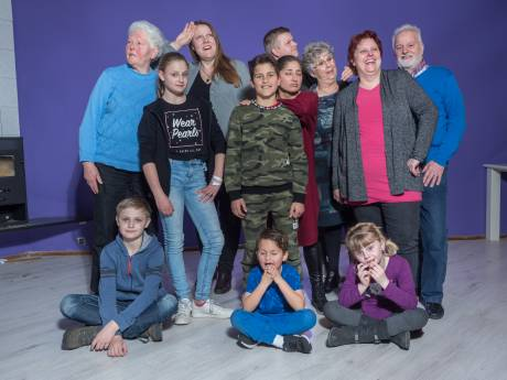 Oma, dochter én kleinkinderen samen in één theaterproductie
