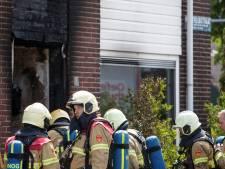 Zutphens huis voorlopig onbewoonbaar na hevige brand