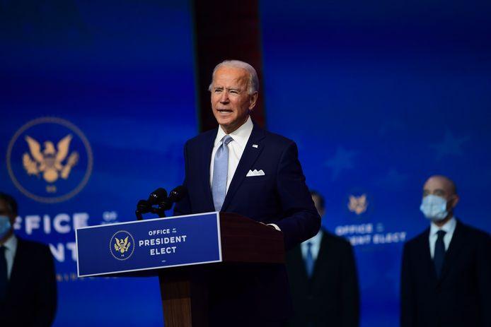 Le président élu américain Joe Biden.