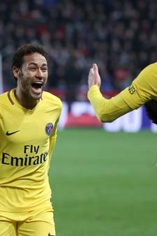 De goals van Neymar, Mbappé en Cavani in Rennes