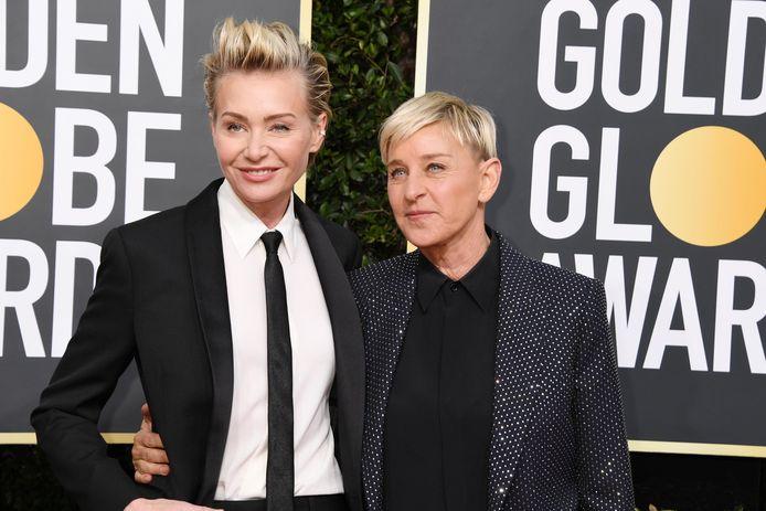 Ellen Degeneres et Portia de Rossi.