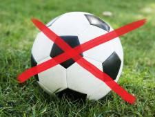 Afgelasting in het amateurvoetbal voor zondag 8 december