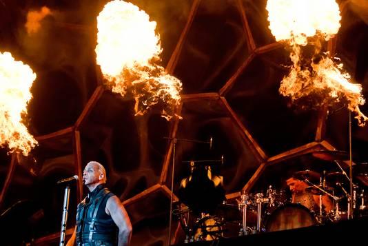 Rammstein op FortaRock.