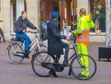 Fietsers negeren massaal het (snor)fietsverbod in de Haagse binnenstad: 'Ik heb geen bordje gezien!'