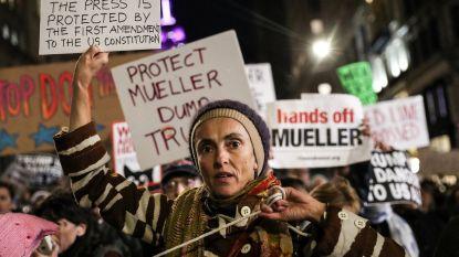 """""""Trump staat niet boven de wet"""": duizenden Amerikanen protesteren tegen verhinderen van Rusland-onderzoek"""