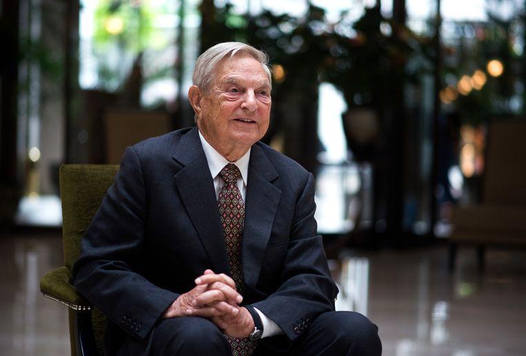 George Soros. Beeld Bloomberg via Getty Images