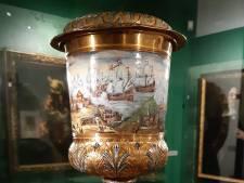 De beker van oorlogsheld Cornelis de Witt