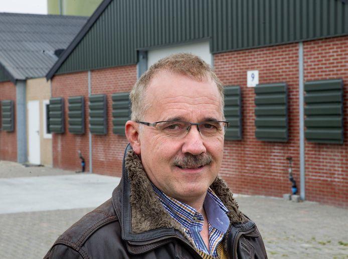 Pluimveehouder Jan Verhoijsen.