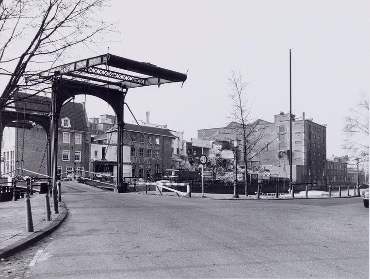 De Petemayenbrug in maart 1983. Beeld Ino Roël