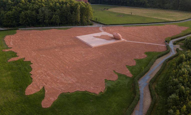 De 600.000 beelden in provinciedomein De Palingbeek in Ieper, in juni 2018.