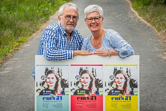 Philippe Missiaen en Mieke Vanlerberghe organiseren het verjaardagsfeest waar Emma zo van droomde ten voordele van Make-a-Wish.