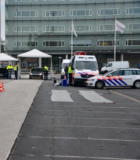 Grote controle van pakketbezorgers die mogelijk drugs vervoeren in Breda
