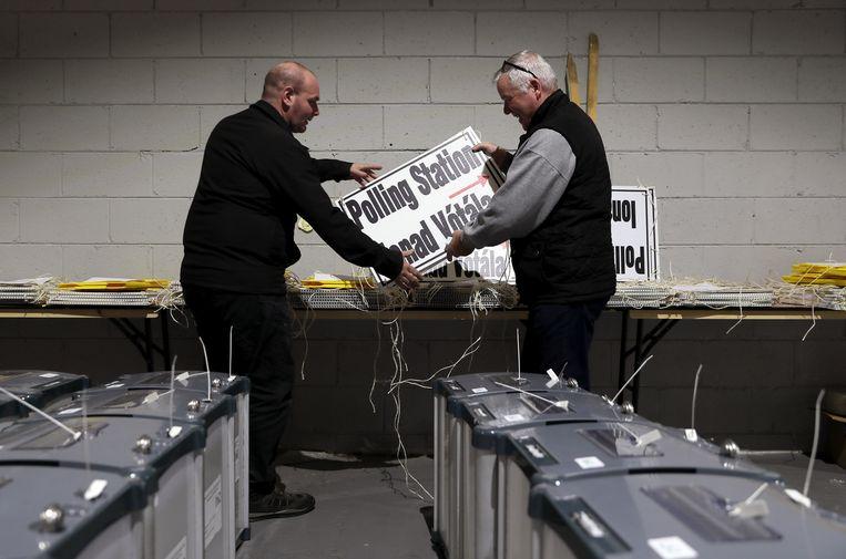 Ierland bereidt zich voor op het referendum en de presidentsverkiezingen. Beeld Hollandse Hoogte / PA Photos Ltd