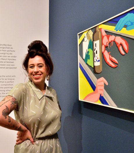 Droom komt uit voor vlogster Mignon: haar schilderij hangt in Museum Gouda