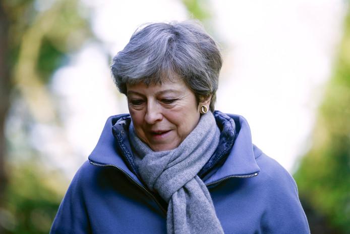 Rebellerende leden van haar kabinet willen de Britse premier, Theresa May, snel tot aftreden dwingen omdat zij van de onderhandelingen over Brexit 'een zootje' heeft gemaakt.